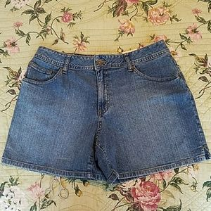 NWT St. John's Bay Denim Shorts